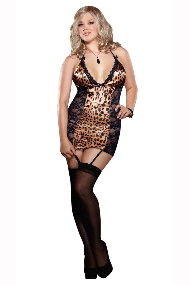 Leoparden dessous